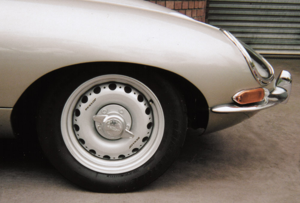 Aluminium D-Type Replica Wheels